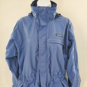 Patagonia WOMEN'S Hooded Jacket SMALL Blue